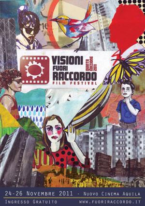 Visioni Fuori Raccordo FIlm Festival 5 edizione - Locandina di Paola Beck